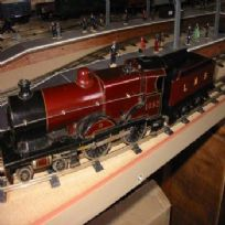 Bassett-Lowke Compound 4-4-0 Locomotive